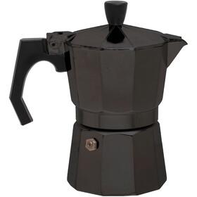 Basic Nature Bellanapoli Macchina da caffè espresso 3 tazze, black